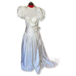 Alfred Angelo Satin Wedding Dress